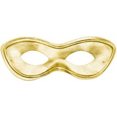 Gold Party Supplies - Super Hero Mask