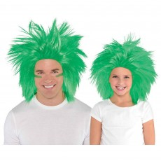 Green Party Supplies - Crazy Wig