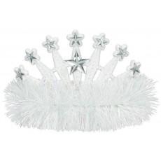 White Tiara 10.1cm x 12.7cm