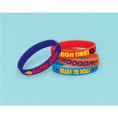 Blaze & The Monster Machines Rubber Bracelet Favours Pack of 6
