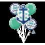 Hawaiian Party Decorations Nautical Bouquet Foil Balloons