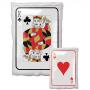 Casino Night Junior Shape XL Roll the Dice King & Ace Playing Card Shaped Balloon 30cm x 43cm