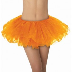 Orange Tutu Adult Costume Adult Size