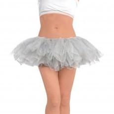 Silver Tutu Adult Costume Adult Size