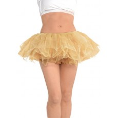 Gold Tutu Adult Costume One Size Fits Most