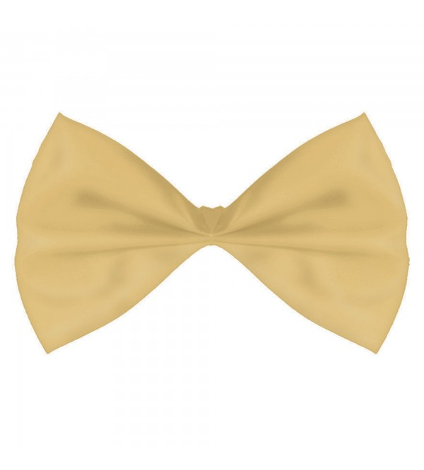 Gold Bowtie Costume Accessory 8.2cm x 15.2cm