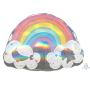 Magical Rainbow SuperShape Holographic Shaped Balloon 71cm x 50cm
