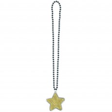 Gold Star Necklace Jewellery 91.4cm