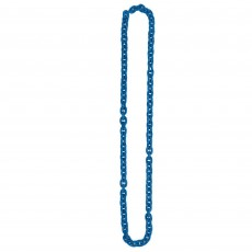Blue Chain Link Necklace Jewellery 121.9cm
