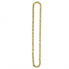 Gold Chain Link Necklace Jewellery 121.9cm