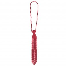 Red Tie Necklace Jewellery