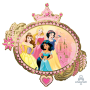 Disney Princess Once Upon A Time SuperShape XL Shaped Balloon 86cm x 81cm