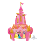 Disney Princess Castle Airwalker Foil Balloon 88cm x 139cm