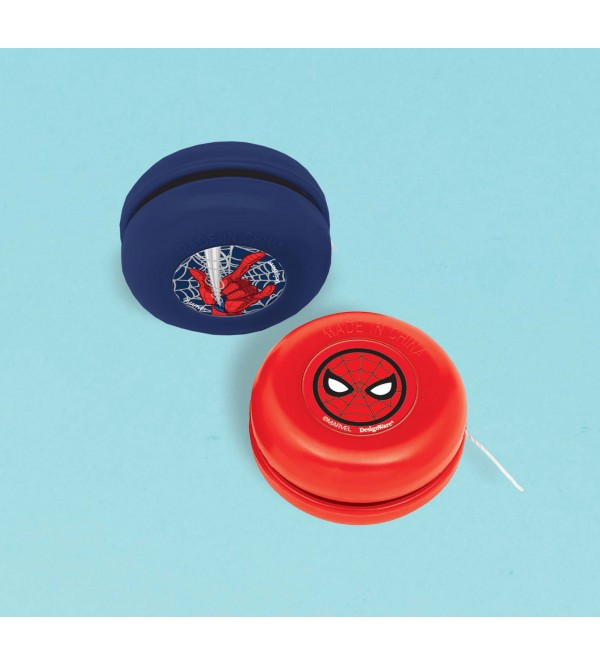 Spider-Man Webbed Wonder Yoyo Favours 3.6cm Pack of 12