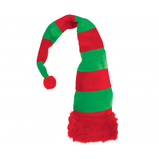 Green & Red Christmas Elf Hat Head Accessory