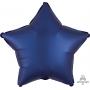 Star Satin Navy Blue Standard XL Shaped Balloon 45cm
