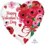 Valentine's Day Party Decorations - Heart Shaped Balloon Lovely Roses