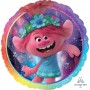 Round Trolls World Tour Foil Balloon 45cm