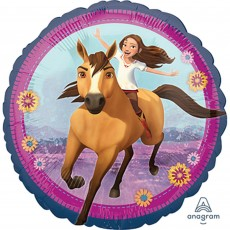 Spirit Riding Free Party Decorations - Foil Balloon Standard HX
