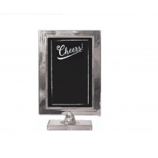 Silver Party Decorations - Customisable Plastic Table Frame