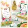 Hawaiian Aloha Mini Buffet Decorating Kits Pack of 12