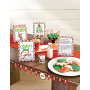 Christmas Santa Stop Here Mini Buffet Decorating Kits Pack of 8