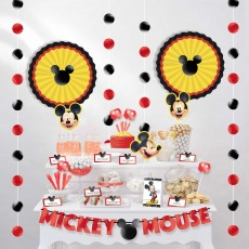 Mickey Mouse Party Decorations - Decorating Kit Forever Buffet Table