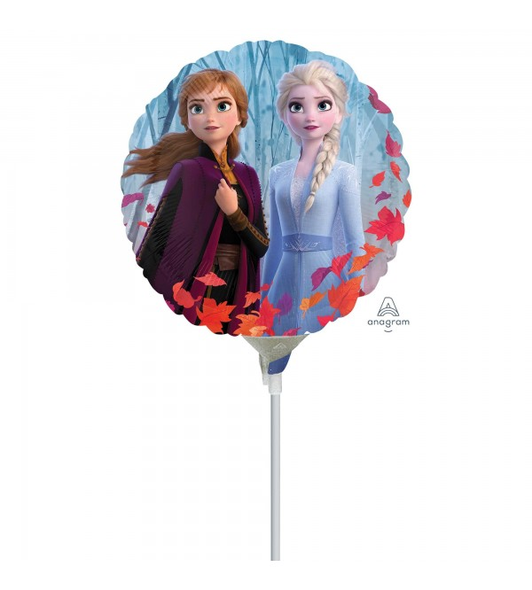 Round Disney Frozen 2 Foil Balloon 10cm
