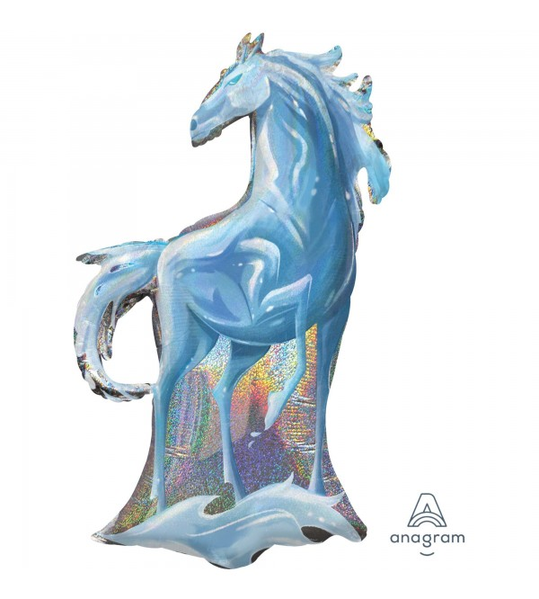Disney Frozen 2 SuperShape Holographic Nokk the Water Spirit Shaped Balloon 58cm x 96cm