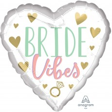 Bridal Shower Party Decorations - Foil Balloon Standard HX Bride Vibes