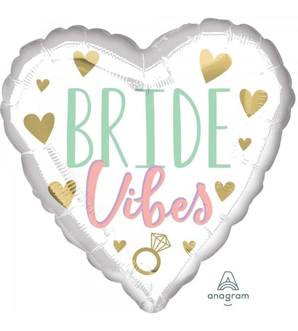 Bridal Shower Party Decorations - Foil Balloon Standard HX Bride Vibes