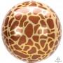 Jungle Animals Party Decorations - Shaped Balloon Giraffe Print