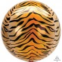 Jungle Animals Party Decorations - Shaped Balloon Tiger Print