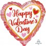 Valentine's Day Party Decorations - Heart Shaped Balloon Marbled