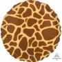 Jungle Animals Party Decorations - Foil Balloon Giraffe Print Animalz