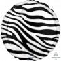 Jungle Animals Party Decorations - Foil Balloon Zebra Print Animalz