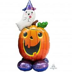 Halloween CI: AirLoonz Pumpkin & Ghost Shaped Balloon 71cm x 142cm