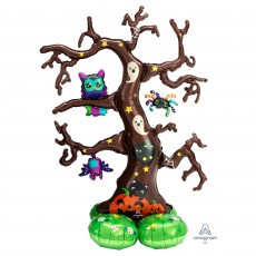Halloween CI: AirLoonz Creepy Tree Shaped Balloon 111cm x 157cm