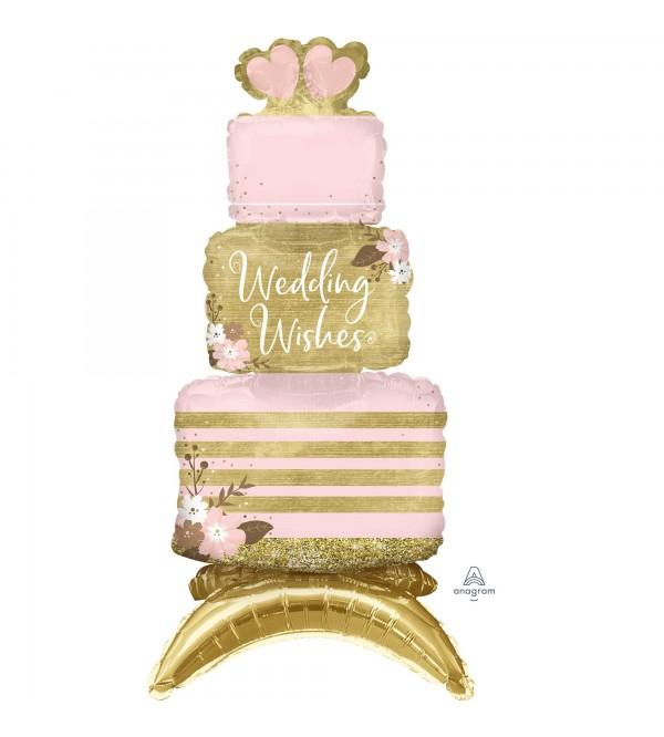 Wedding Party Decorations - Shaped Balloon CI: Decor Cake i Wishes