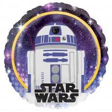 Star Wars Party Decorations - Foil Balloon Galaxy R2D2 Standard HX