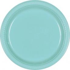 Round Robin's Egg Blue Plastic Dinner Plates 22.9cm Pack of 20