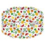 Hawaiian Party Decorations Fruit Design Sectional Platters