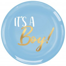 Baby Shower - General Plastic It's a Boy! Lunch Plates 19cm Pack of 20