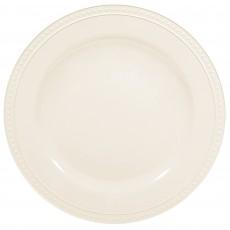 White Party Supplies - Dinner Plate Premium