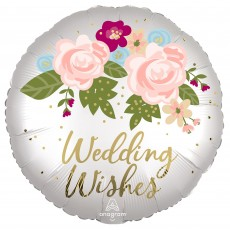 Wedding Party Decorations - Foil Balloon Floral Standard XL
