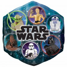 Star Wars Party Decorations - Shaped Balloon Galaxy SuperShape XL