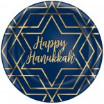 Hanukkah Party Supplies - Dinner Plates Plastic