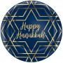 Hanukkah Party Supplies - Dinner Plates Plastic