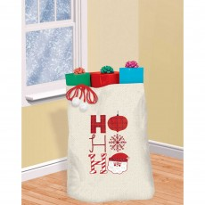 Christmas Party Supplies - Canvas Gift Sack