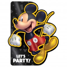 Mickey Mouse Party Supplies - Invitations Forever Deluxe